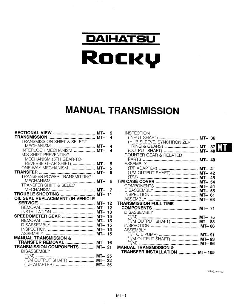 92rocky Mt Manual Transmission Pdf  8 4 Mb